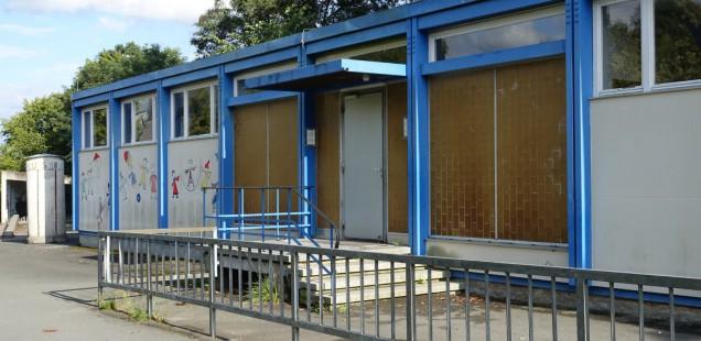 Antrag zu den Schulpavillons Bürgerreuth