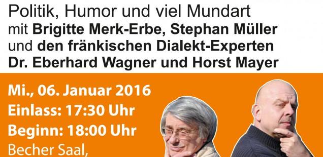 """""""Stärke antrinken"""" der BG mit Dr. Eberhard Wagner und Horst Mayer"""