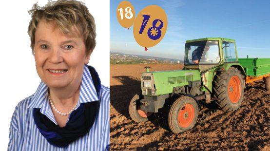 Kartoffelernte für Kinder & Familien (seit 18 Jahren initiiert von Gudrun Bessel)