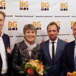 Stärkeantrinken bei der Bayreuther Gemeinschaft mit Staatsminister Thorsten Glauber